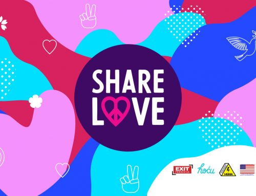 #ShareLove: EXIT Festival collects and rewards actions of love from the entire Balkans region!
